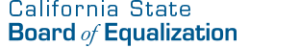 State Board of Equalization logo